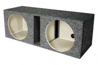 QPower® - Dual Round Holes Subwoofer Boxes