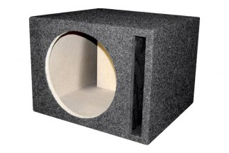 QPower® - Single Round Holes Subwoofer Boxes