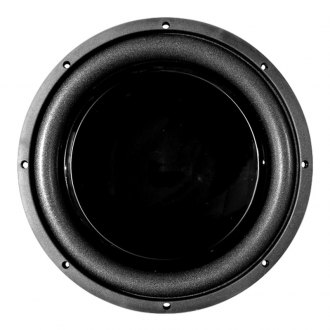 "QPower® - 10"" Black Mamba Series 600W DVC Flat Subwoofer"
