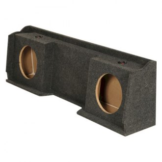 "QPower® - 12"" 2-Holes Downward-Firing Sealed Subwoofer Enclosure"