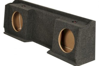 "QPower® - 12"" Dual Subwoofer Box"