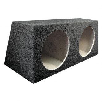 "QPower® - 12"" Hatchback Series Dual Holes Subwoofer Box"