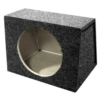 "QPower® - 10"" Hatchback Series Forward-Firing Sealed Subwoofer Box"
