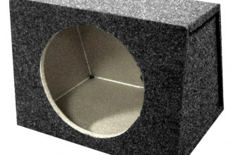 "QPower® - 10"" Hatchback Series Single MDF Front Subwoofer Box"