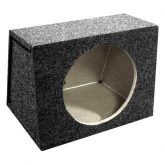 "QPower® - 12"" Hatchback Series Single MDF Front Subwoofer Box"