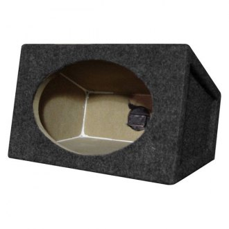 "QPower® - 6"" x 9"" Series Single Straight Carpet Subwoofer Boxes"
