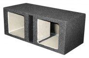 QPower® - Dual Square Holes Slot Subwoofer Boxes