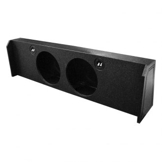 QPower® - 2-Hole Downward-Firing Sealed Subwoofer Enclosure