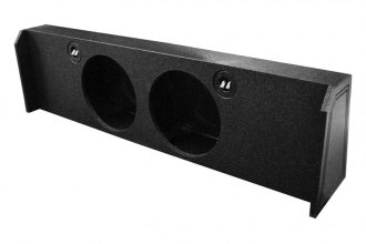 QPower® - Dual Empty Woofer Box