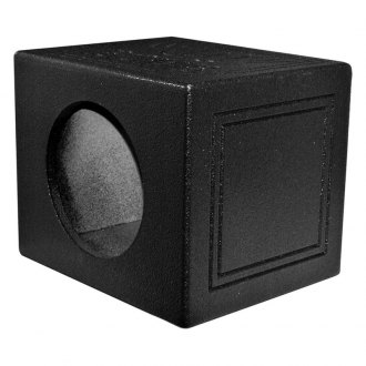 "QPower® - 10"" QBomb Series Sealed Subwoofer Box"