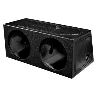 "QPower® - 12"" QBomb Series 2-Holes Sealed Subwoofer Box"