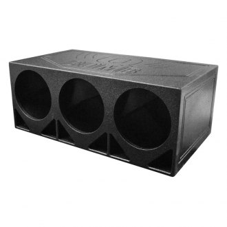 "QPower® - 12"" 3 Hole Turbo Ported Subwoofer Box"