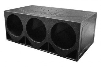 "QPower® - 12"" Turbo Ported Empty Woofer Box"