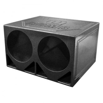 "QPower® - 12"" QBomb Series 2-Holes Ported Subwoofer Box"