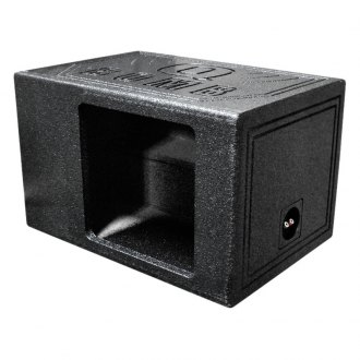"QPower® - 12"" QBomb Series Vented Subwoofer Box"