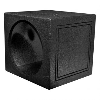 "QPower® - 15"" Single Sealed Subwoofer Enclosure with Bed Liner Spray"