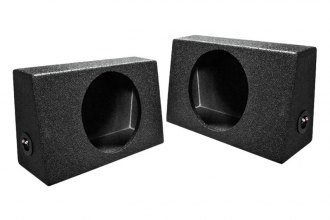 QPower® - QBomb Truck Series Single Sealed Behind Seat Subwoofer Boxes