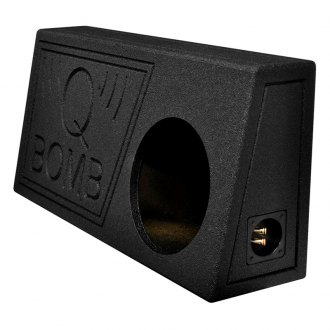 "QPower® - 10"" Truck Series Ported Subwoofer Box"