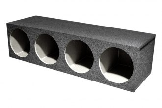 "QPower® - 10"" 4 Hole Series Subwoofer Box"