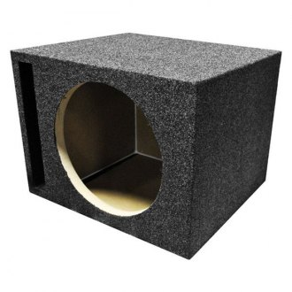 "QPower® - 10"" Heavy Duty Series Vented Subwoofer Box"