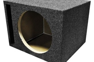 QPower® - Heavy Duty Series Single Hole Vented Subwoofer Box