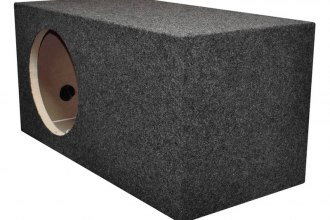 "QPower® - 12"" Single Side Ported SPL Xtra Large Heavy Duty Empty Subwoofer Box"