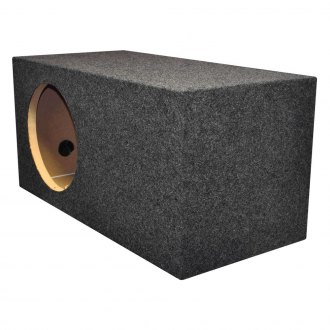 "QPower® - 12"" Heavy Duty Series Xtra Large Sealed Subwoofer Box"
