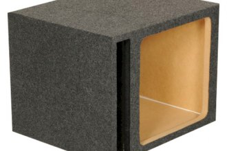 QPower® - Heavy Duty Series Single Square Hole Vented Woofer Box