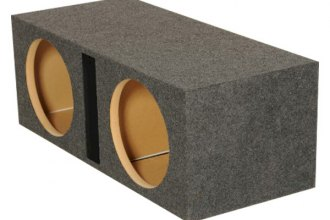 QPower® - Heavy Duty Series Dual Holes Vented Subwoofer Box