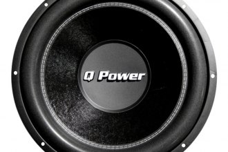 "QPower® - 10"" Deluxe Series 1700W DVC Subwoofer"