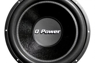 "QPower® - 12"" Deluxe Series 1700W DVC Subwoofer"