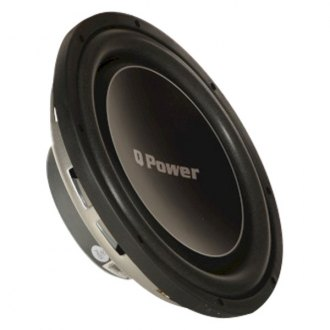 "QPower® - 12"" Deluxe Series 1200W 4 Ohm DVC Subwoofer"