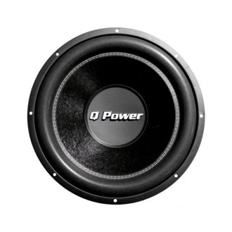"QPower® - 15"" Deluxe Series 2200W 4 Ohm DVC Subwoofer"