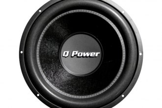 "QPower® - 15"" Deluxe Series 2200W DVC Subwoofer"