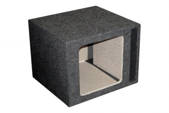 QPower® - Bass Series Single Square Subwoofer Boxes