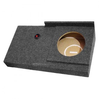 "QPower® - 10"" Downward-Firing Sealed Subwoofer Enclosure"