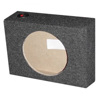 "QPower® - 10"" Upward-Firing Sealed Subwoofer Box"