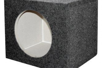 "QPower® - 10"" Solo Series Single Square Subwoofer Box"