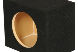 "QPower® - 8"" Solo Series Single Hole Sealed Subwoofer Box"