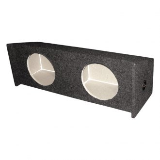"QPower® - 12"" Dual Holes Subwoofer Box"