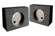 QPower® - Twin Series Angled Single Woofer Boxes