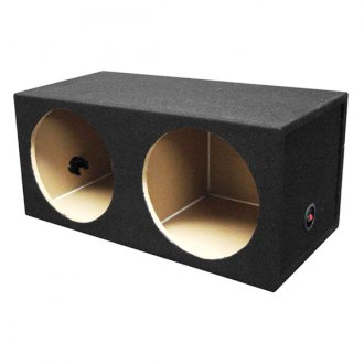 "QPower® - 12"" Solo Series 2-Holes Sealed Subwoofer Box"