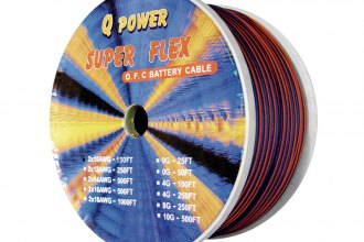 QPower® - Super Flex Speaker Wire