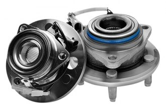 Image may not reflect your exact vehicle! Quality-Built® - Rear Wheel Bearing and Hub Assembly