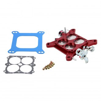 "QFT® - 1-3/4"" Red Dual Flange Bolt Pattern Billet Throttle Body"