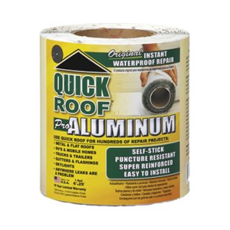 "Quick Roof® - 6"" x 25"" Waterproof Aluminum Roof Repair"