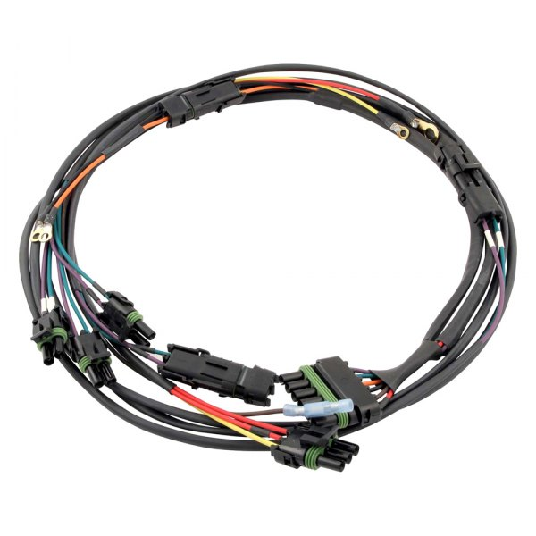 quickcar racing 174 50 2034 dual distributor ignition wiring harness