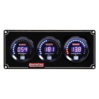 QuickCar Racing® - Digital 3-Gauge Panels