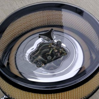 "R2C Performance® - 14"" Clear Ultra Polycarbonate Air Cleaner Lid"