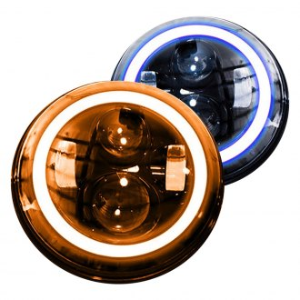 Race Sport® - Round Sealed Beam Halo Headlights